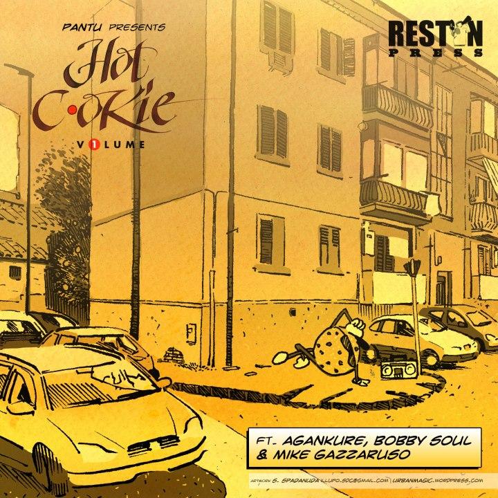 Pantu presents Hot Cookie vol.1 / Graphic by Urbanmagic