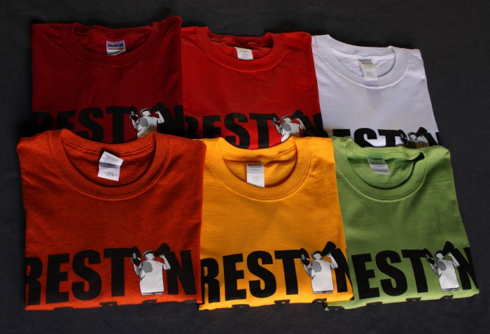 T-Shirts Rest In Press