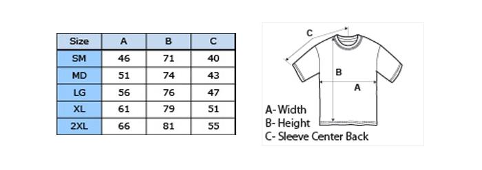 size details mod UOMO heavy cotton